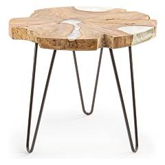 Bizzotto 0680447 Wooden table d. 55 Frio