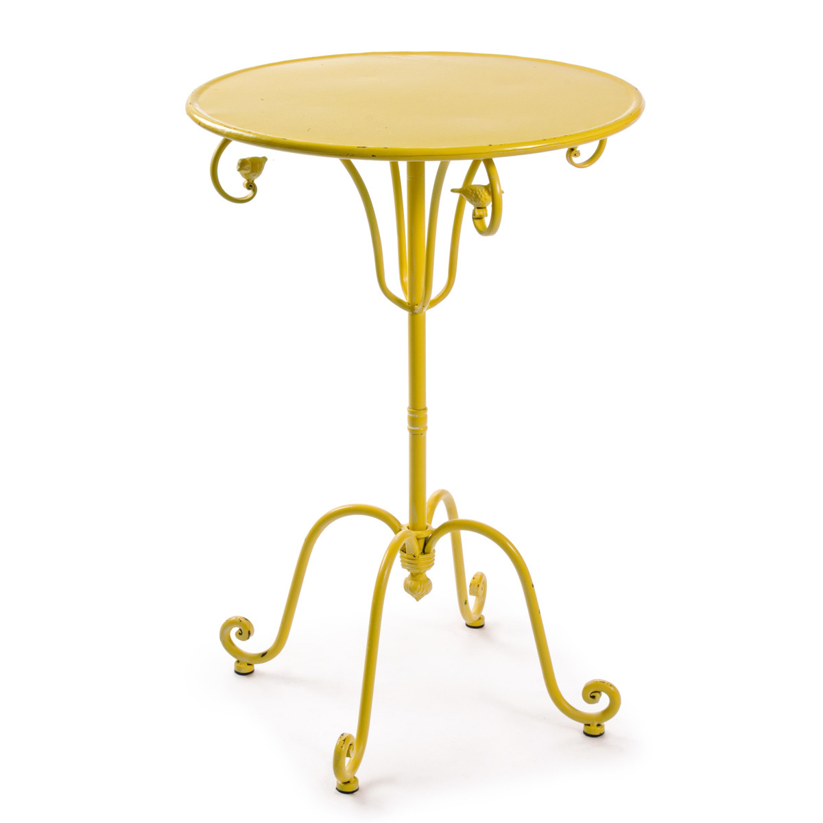 Photos 1: Bizzotto Metal table d. 51 - yellow 0740151