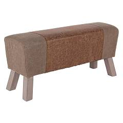 Bizzotto 0743389 - Crocket L Bench in wood and fabric