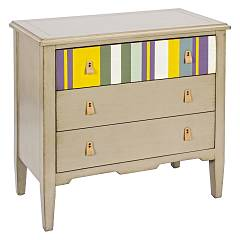 Bizzotto 0744544 - Moritz Chest of drawers wood 3 drawers - taupe
