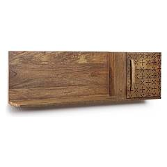 Bizzotto 0745168 - EMIRA Wood shelf with 1 door left