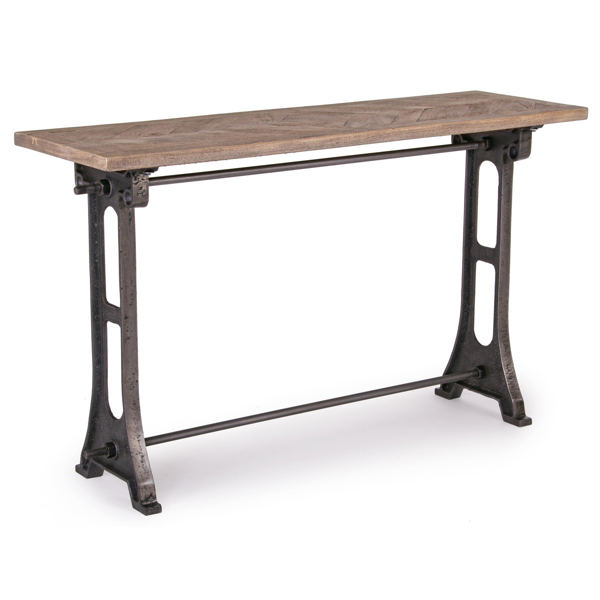 Photos 1: Bizzotto Wood and iron consoles l. 130 x 40 0745550
