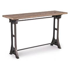 Bizzotto 0745550 Wood and iron consoles l. 130 x 40 Astor