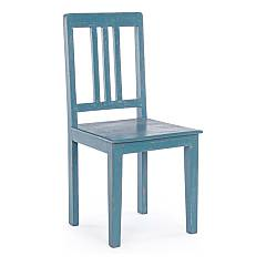 Bizzotto 0745670 Wooden chair - blue avio Ania