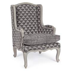 Bizzotto 0748075 - Charline Armchair covered in fabric