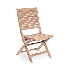 Bizzotto 0804380 - MARYLAND Wooden chair, foldable