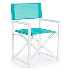 Bizzotto 0662082 Director - turquoise armchair Taylor