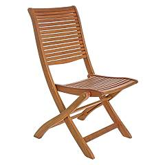 Bizzotto 0805122 Folding chair in wood Noemi