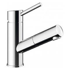 Blanco Alima-wt Chromed sink mixer - with shower