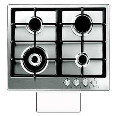 Blanco Professional 6x5-4 Recessed cooking top 62 cm - white