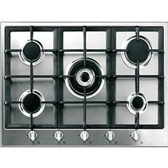 Blanco Professional 7x5-5 Gas hob cm. 72 - stainless steel