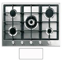 Blanco 1017103 Hob flush-mounted 72 cm - white