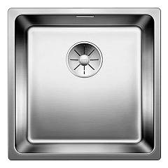 Blanco Andano 400-if Semi-flush / flush-mount sink cm. 44 x 44 stainless steel Andano