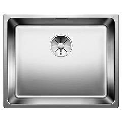 Blanco Andano 500-if Semi-flush / flush-mount sink cm. 54 x 44 stainless steel Andano
