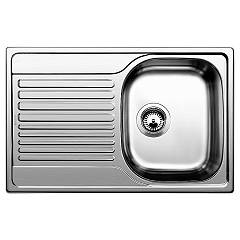 Blanco Tipo 45 S Compact Built-in sink cm. 78 x 50 stainless steel - left draining board Tipo