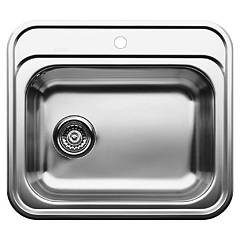 Blanco Dana Built-in sink cm. 58 x 51 stainless steel