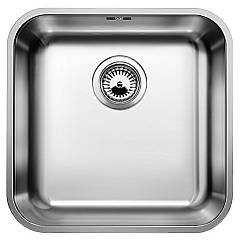 Blanco Supra 400-u Undermount sink cm. 43 x 43 stainless steel Supra