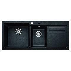 Blanco 1519654 Recessed sink 116 x 50 anthracite - right drip Blanco Naya 8 S