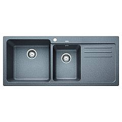 Blanco 1519656 Recessed sink 116 x 50 alumetallic - right drip Blanco Naya 8 S