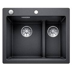 Blanco 1521689 Recessed sink 62 x 51 anthracite Pleon 6 Split