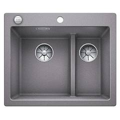 Blanco 1521691 Built-in sink 62 x 51 alumetallic Pleon 6 Split