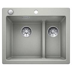 Blanco 1521692 Recessed sink 62 x 51 pearl gray Pleon 6 Split