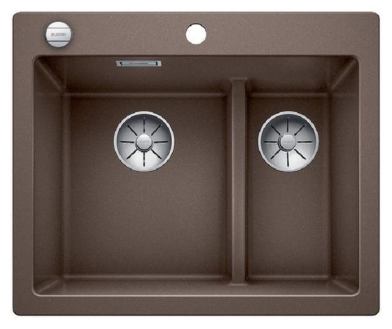 Photos 1: Blanco 1521698 Pleon 6 Split Built-in sink 62 x 51 coffee