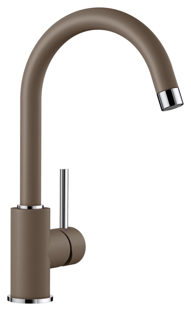 Photos 1: Blanco MIDA Modern Kitchen mixer - silgranit - nutmeg