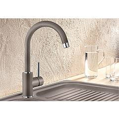 Photos 2: Blanco MIDA Modern Kitchen mixer - silgranit - nutmeg