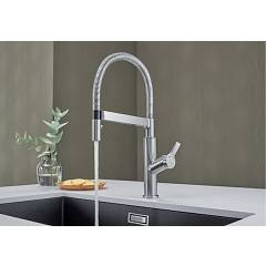 Photos 4: Blanco 1522406 Solenta S Senso Kitchen mixer with shower - chrome