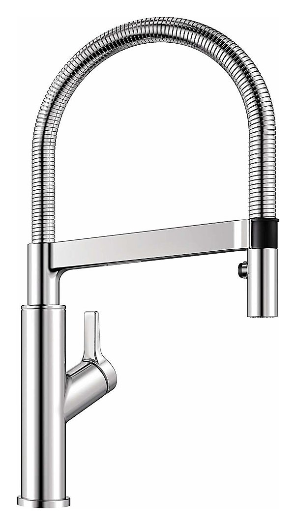 Photos 1: Blanco 1522406 Solenta S Senso Kitchen mixer with shower - chrome