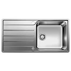 Blanco 1523035 100 x 50 stainless steel filotop sink - reversible drip tray Lemis Xl 6 S-if