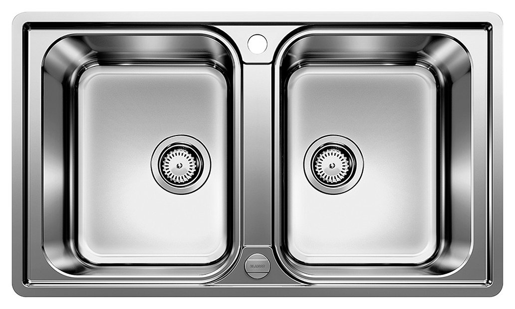 Photos 1: Blanco 1523039 Lemis 8-if Filotop sink 86 x 50 stainless steel