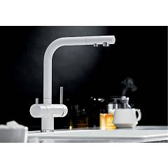 Photos 2: Blanco 1523133 Fontas 2 Three-way kitchen mixer - champagne