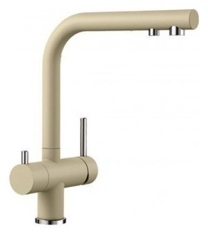Photos 1: Blanco 1523133 Fontas 2 Three-way kitchen mixer - champagne