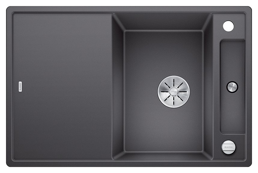 Photos 1: Blanco 1523184 Axia 3 45 S Built-in sink gray 78 x 51 - reversible drip
