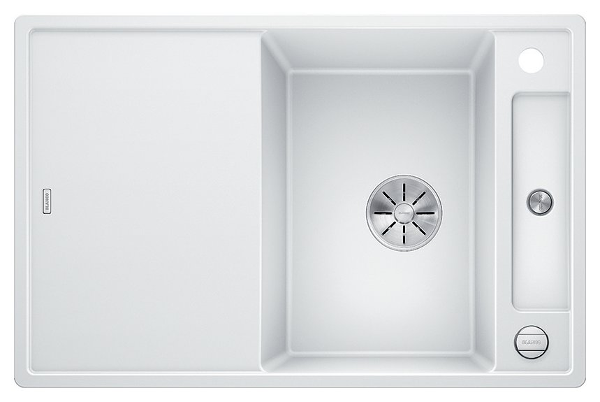 Photos 1: Blanco 1523177 Axia 3 45 S Built-in sink 78 x 51 white - reversible drip
