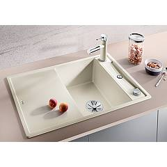 Photos 2: Blanco 1523187 Axia 3 45 S Built-in sink 78 x 51 white - reversible drip