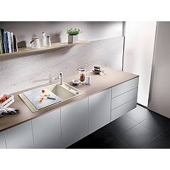 Photos 3: Blanco 1523187 Axia 3 45 S Built-in sink 78 x 51 white - reversible drip