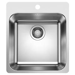 Blanco 1523358 44 x 50 stainless steel filotop sink Supra 400-if/a