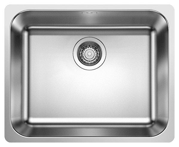Photos 1: Blanco 1523361 Supra 500-if Filotop sink 54 x 44 stainless steel