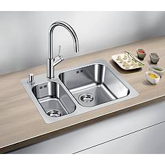 Photos 2: Blanco 1523367 Supra 340/180-if/a Stainless steel filotop sink 63 x 47