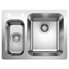 Blanco 1523367 Stainless steel filotop sink 63 x 47 Supra 340/180-if/a