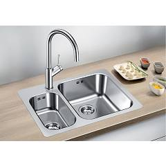 Photos 2: Blanco 1523368 Supra 340/180-if/a Stainless steel filotop sink 63 x 47