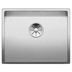 Blanco 1523386 Undermount sink 54 x 44 stainless steel Claron 500-u