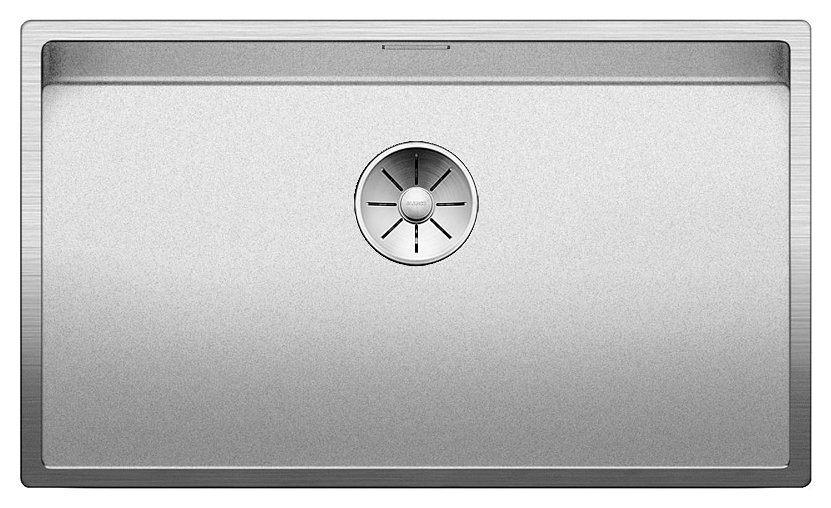 Photos 1: Blanco 1523391 Claron 700-if 74 x 44 stainless steel filotop sink