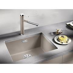 Photos 2: Blanco 1523440 Subline 500-u Undermount sink 53 x 46 silgranit - nutmeg
