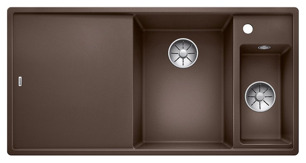 Photos 1: Blanco 1523482 Axia 3 6 S Built-in sink 100 x 51 coffee - left drainer