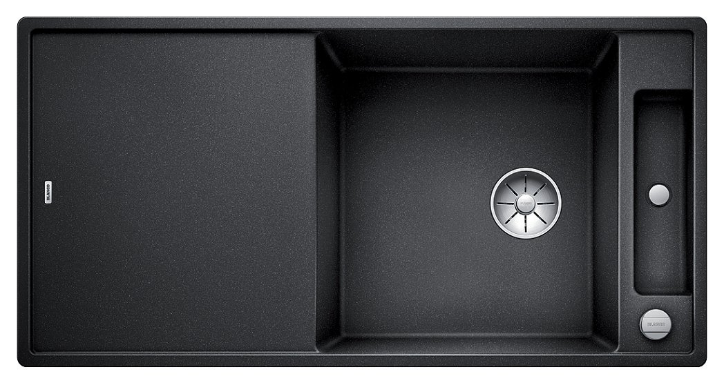 Photos 1: Blanco 1523500 Axia 3 Xl 6 S Built-in sink 100 x 51 anthracite - reversible drainer