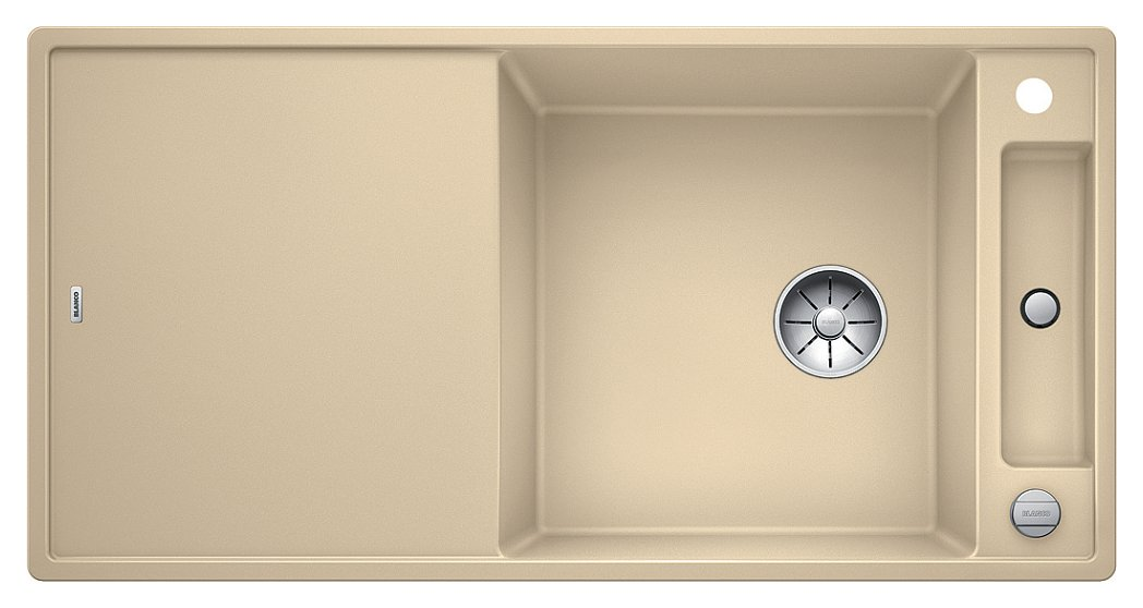 Photos 1: Blanco 1523516 Axia 3 Xl 6 S Built-in sink 100 x 51 champagne - reversible drainer